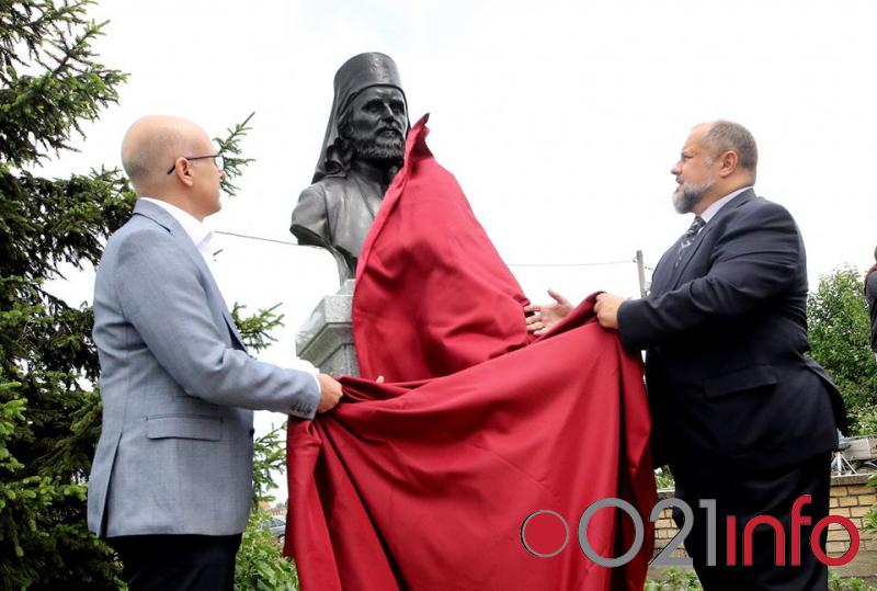 Otkrivena spomen-bista vladike Danila Krstića na Klisi